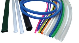 China Electrical Wire Heat Shrink Rubber Tubing , Custom Silicone Hoses Shrink Wrap Wire Insulation supplier