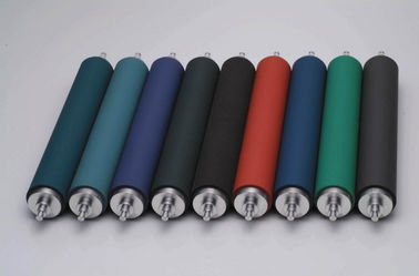 China Kilns Industrial Rubber Covered Rollers , Colorful Food Grade Precision Rubber Rollers supplier
