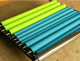 China ABS Handle Cleaning Rubber Rollers Anti - Static Adhesive Clean Room , Any PMS Color supplier