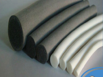 RoHS Compliant Silicone Foam Tube Sponge Strip Heat Resistant For Medical Equipment