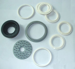 Electronic Silicone Rubber Gasket 1mm Thickness , 82mm External Diameter