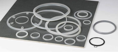 FDA Custom Molded Silicone Rubber Gasket , Heat Resistant Rubber Seal Ring