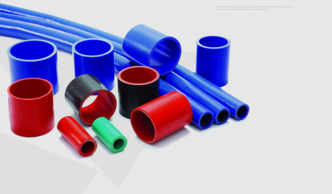 High Pressure Flexible Silicone Hose Fabric Reinforced For Electrical Industries